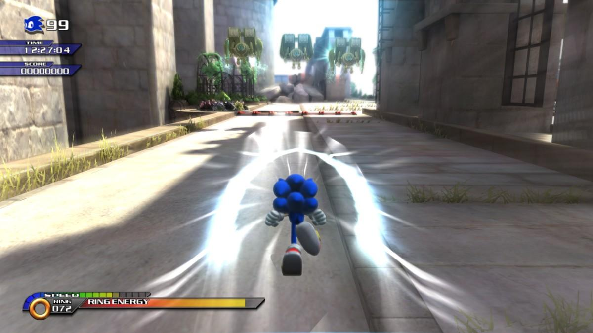 sonic unleashed is actually a good game 56k gamespot com